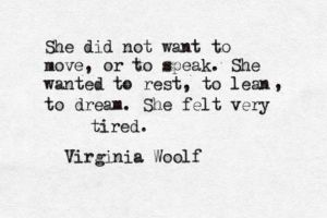 Tired Woolf
